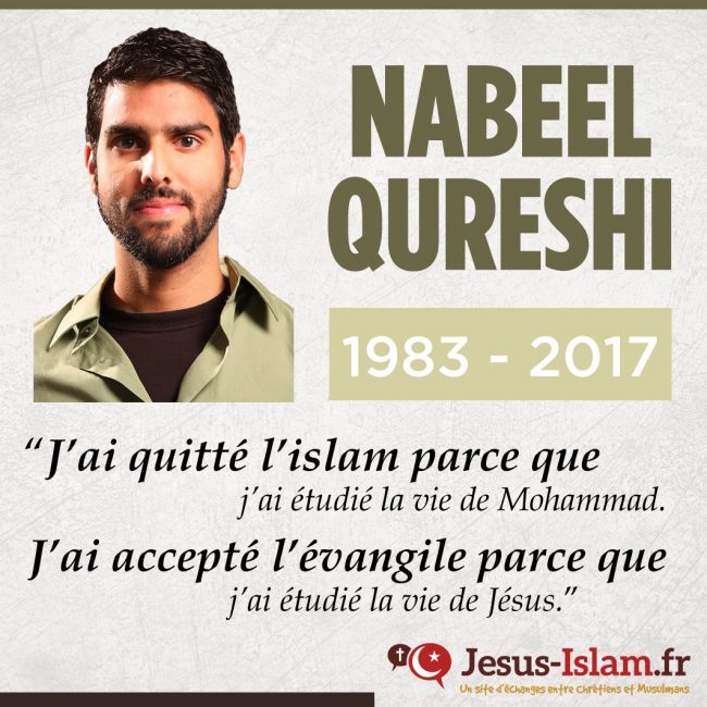 Nabeel Qureshi : courage, engagement et témoignage empreint de compassion